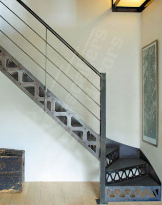 Escalier métal sur mesure - Escaliers Décors®