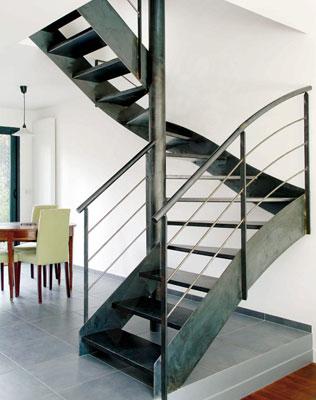 Escalier 2 4 tournants