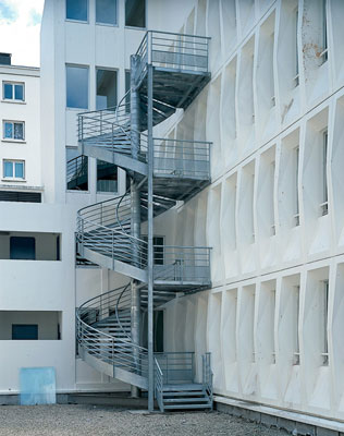 escalier exterieur 2 etages