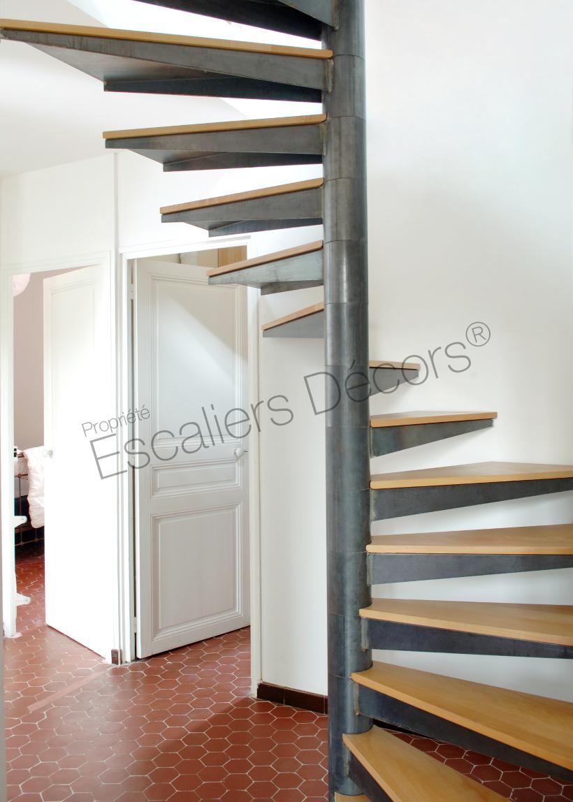 Protection Pour Marche D Escalier escalier colimaçon carré - escaliers décors®