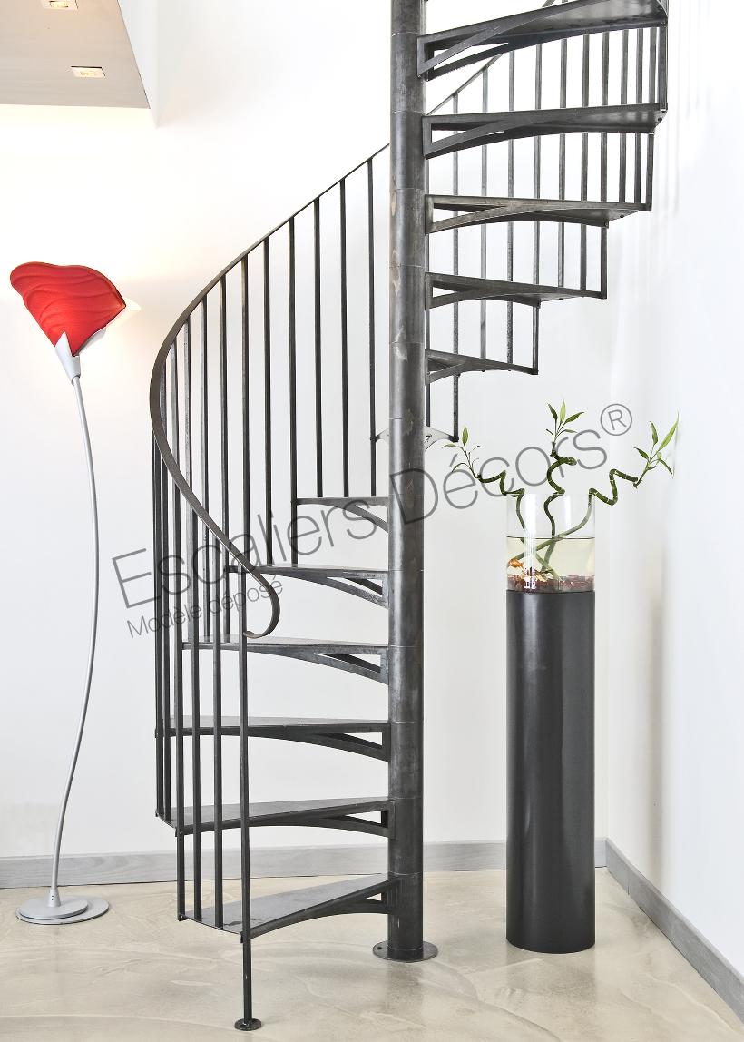 Escalier Colimacon En Kit Style Atelier Escaliers Decors