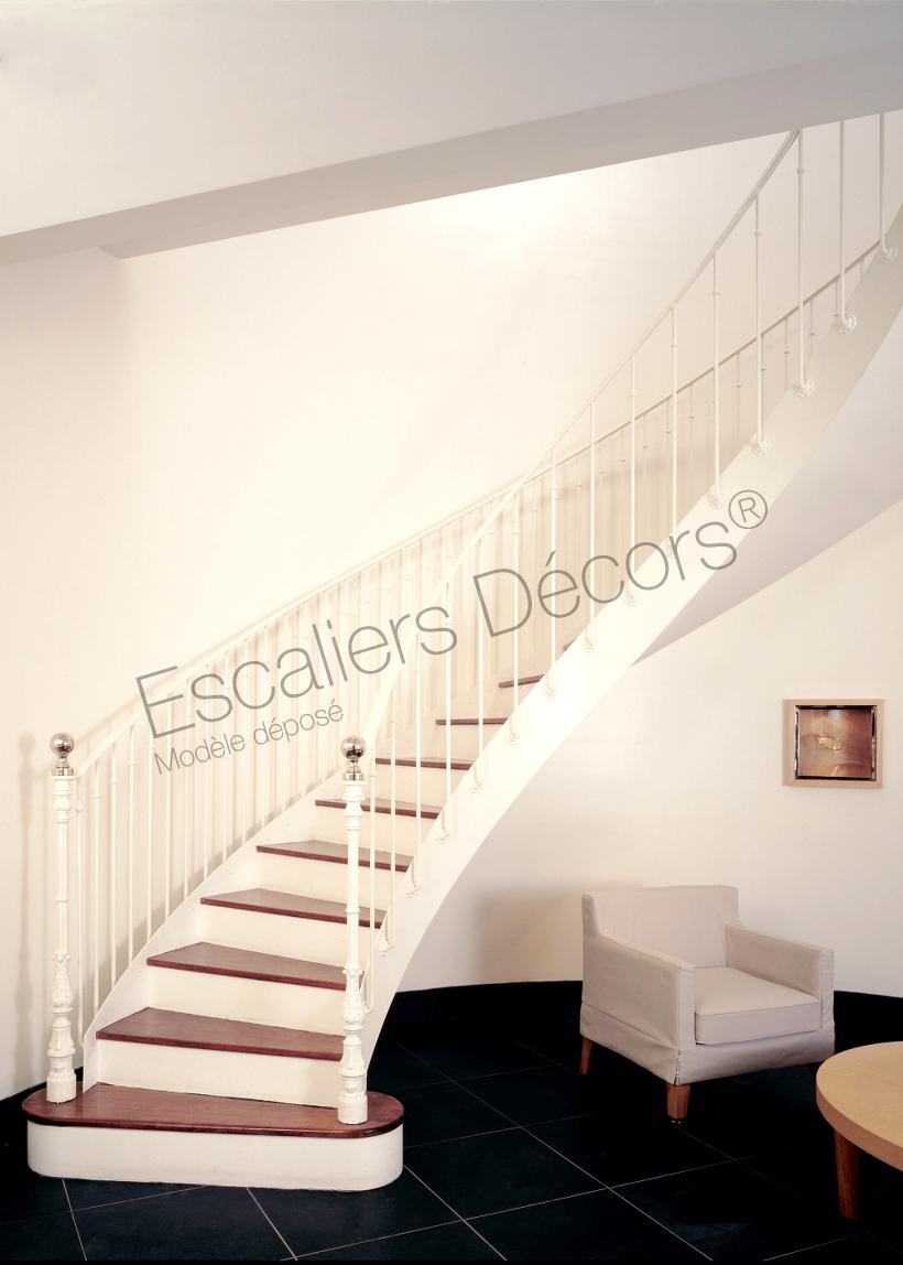 Modele D Escalier D Intérieur escalier balancé - escaliers décors®