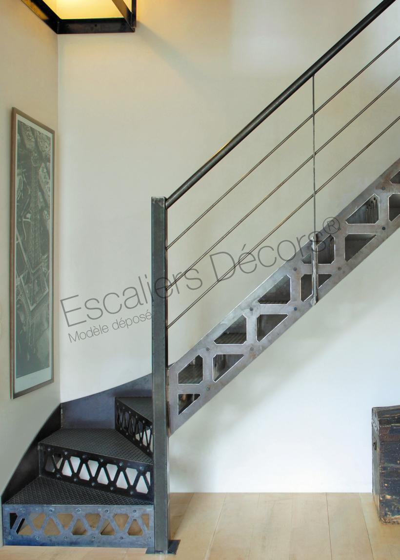 Escalier Metal Sur Mesure Escaliers Decors
