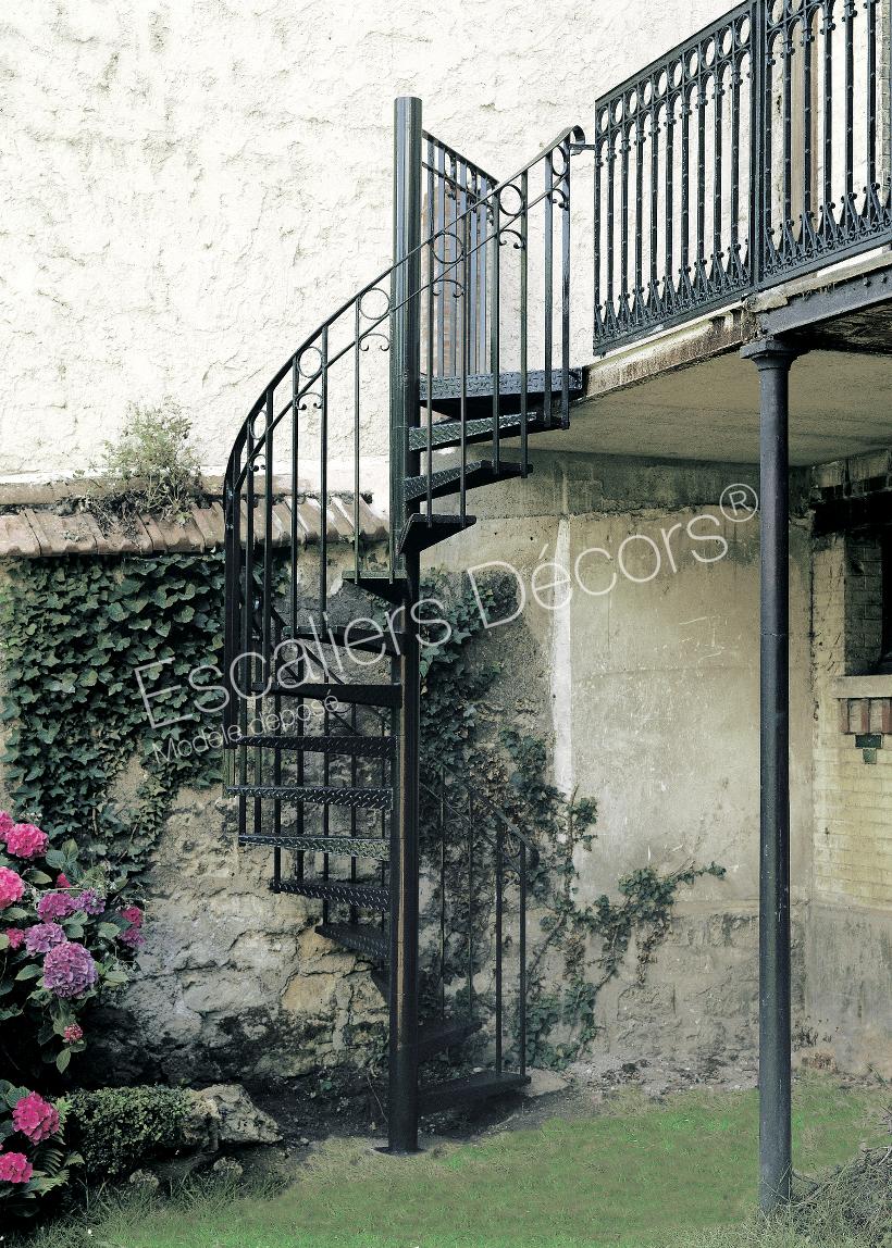 Escalier Dans Maison Ancienne escalier extérieur - escaliers décors®