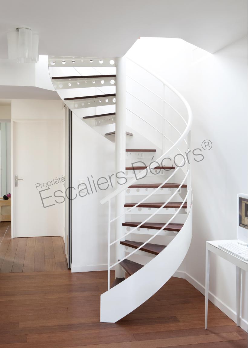 Photo DH92 - SPIR\'DÉCO® Standing. Escalier d\'intérieur en ...