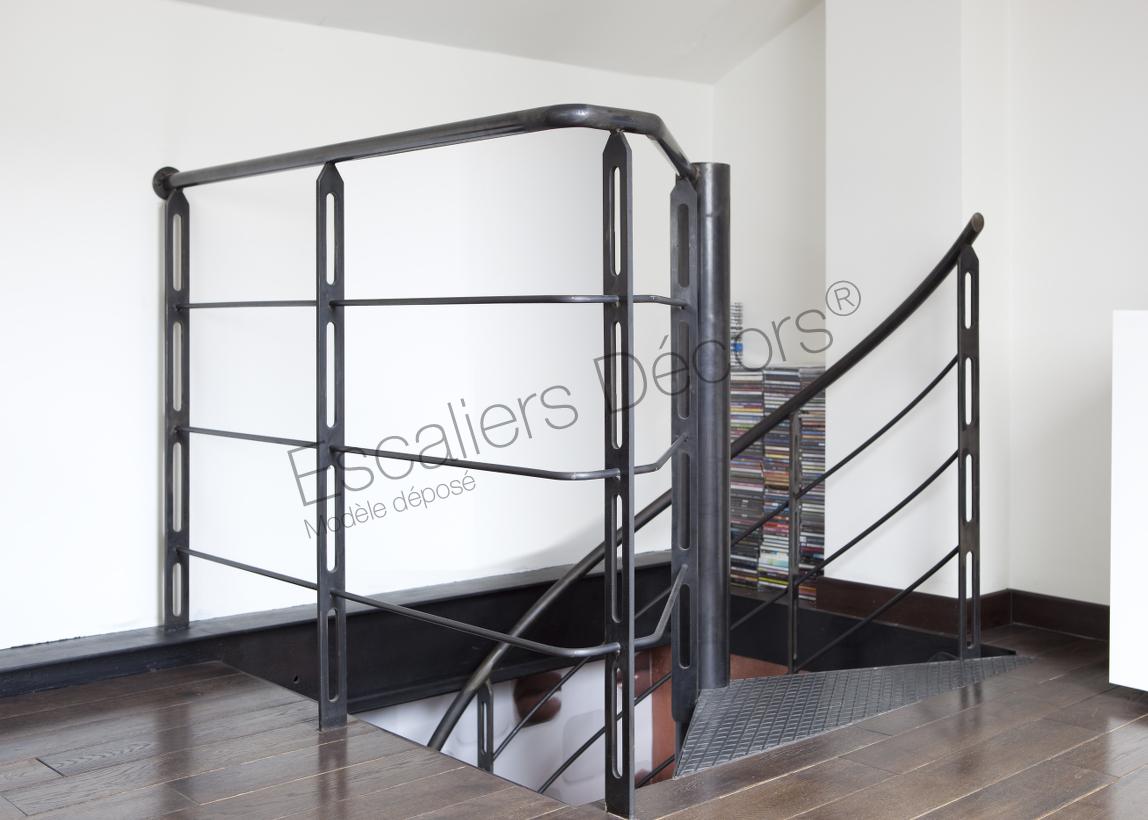 escalier h lico dal escaliers d cors. Black Bedroom Furniture Sets. Home Design Ideas