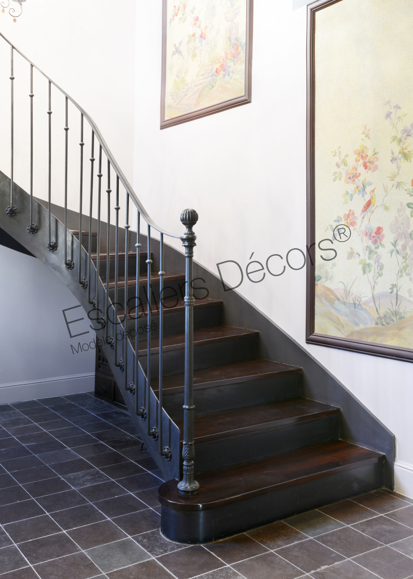 Fabricant D Escalier Bois escalier balancé - escaliers décors®