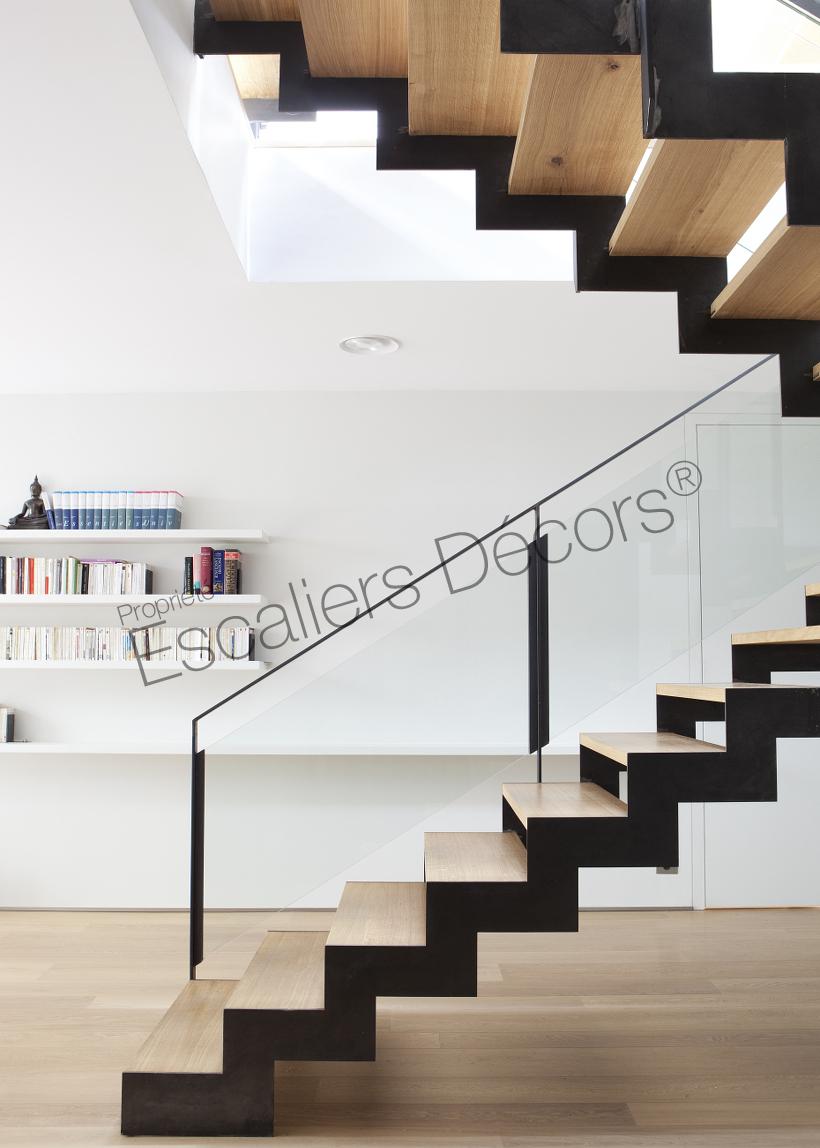 Escalier 2/4 Tournants - Escaliers Décors®