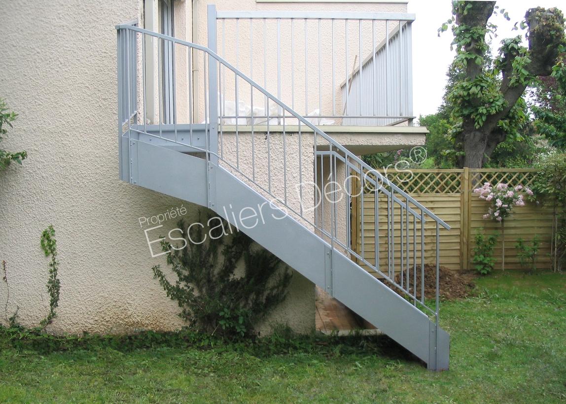 Photo DT105 - ESCA\'DROIT® 1/4 Tournant Haut. Escalier ...