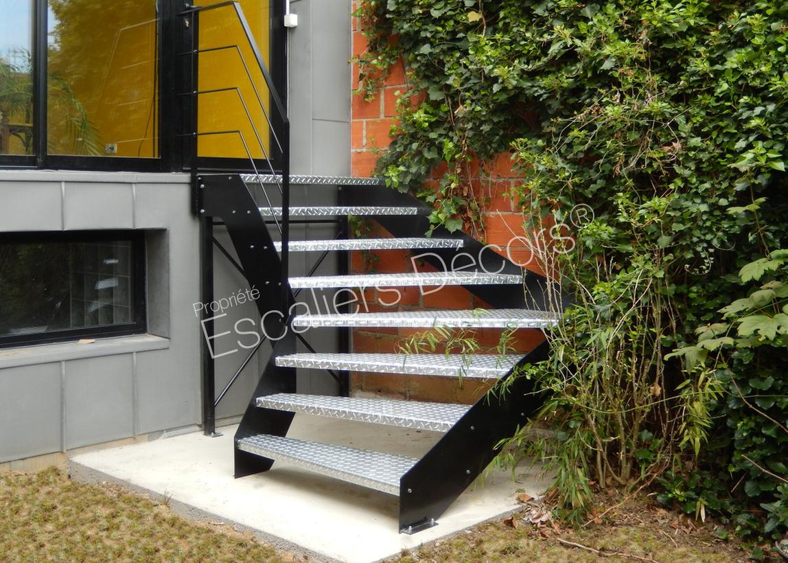 Escalier Extérieur - Escaliers Décors®