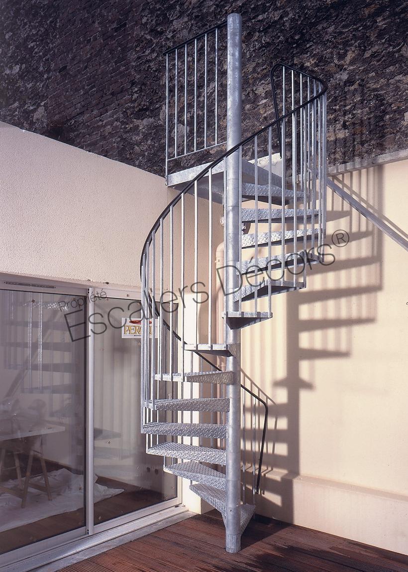 Photo Sh5 Gamme Initiale Spir Deco Classique Escalier