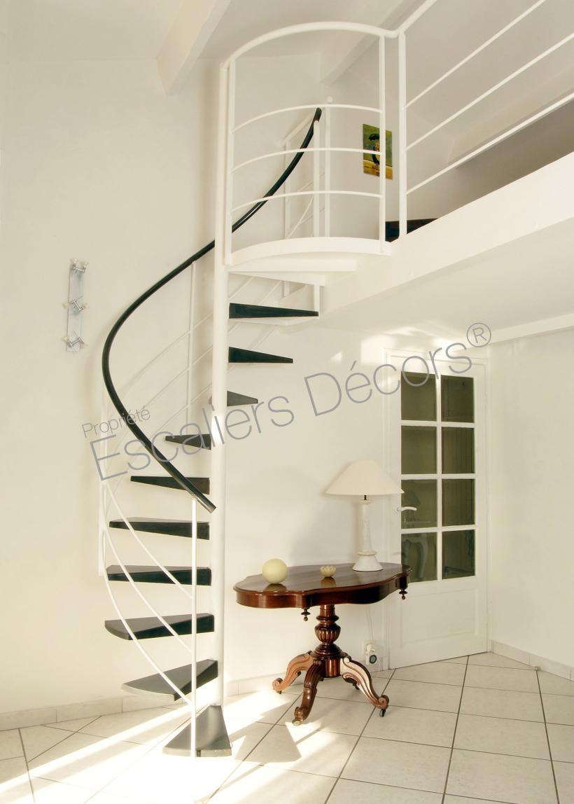Maison Avec Passerelle Intérieure photo dh49 - spir'dÉco® standing. escalier d'intérieur