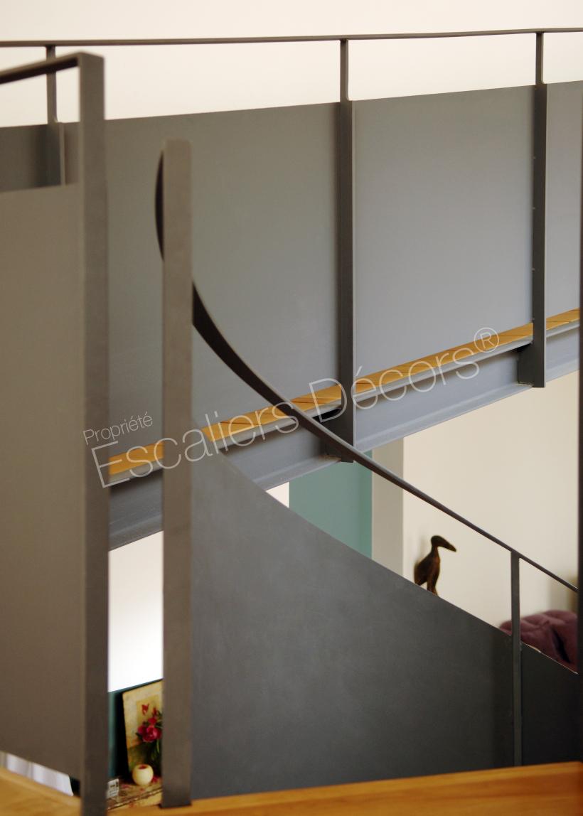 Maison Avec Passerelle Intérieure passerelle et palier - escaliers décors®