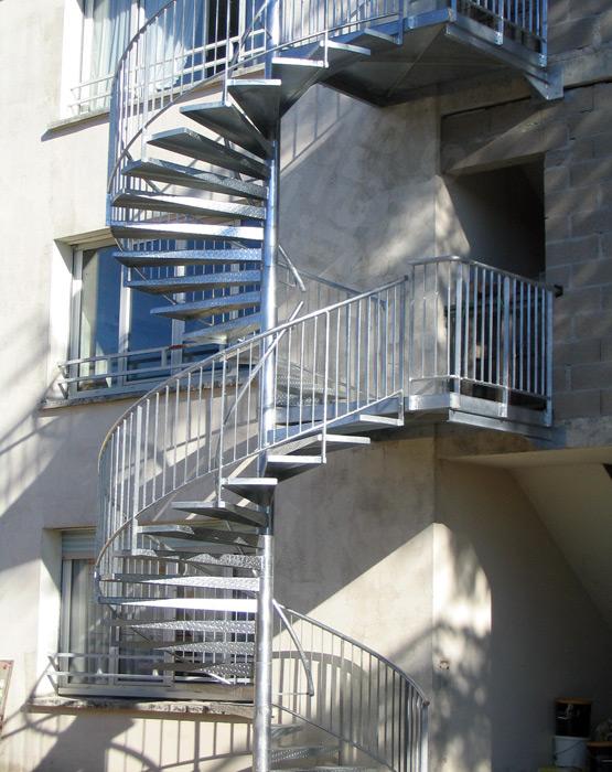 Escalier De Secours Escaliers Decors