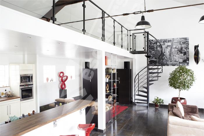 escalier colima on contemporain escaliers d cors. Black Bedroom Furniture Sets. Home Design Ideas