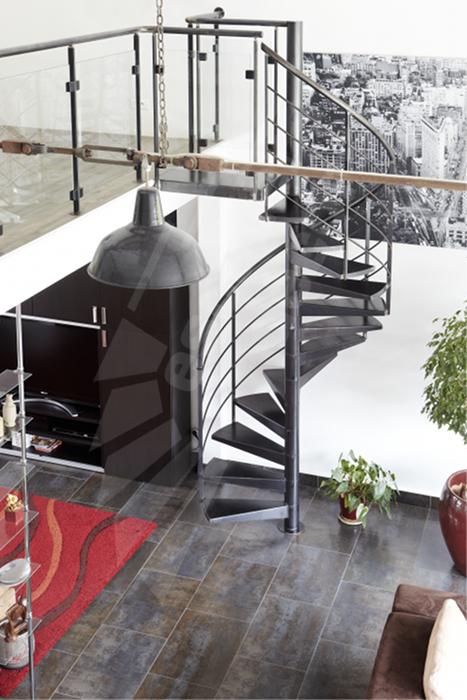 escalier helicoidal loft