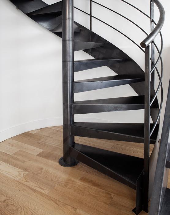 Bien-aimée Escalier colimaçon contemporain - Escaliers Décors® @OU_53