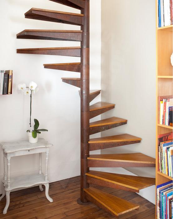 Escalier Colimacon Carre Escaliers Decors