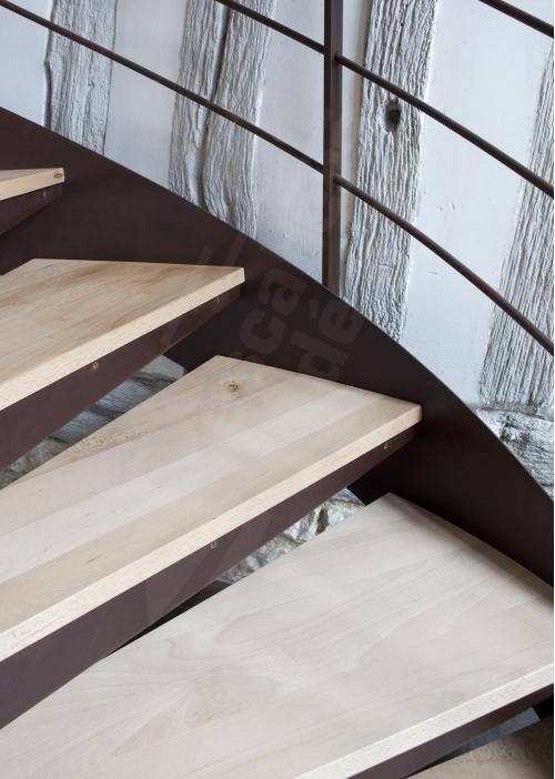 Escalier colimaçon contemporain - Escaliers Décors®