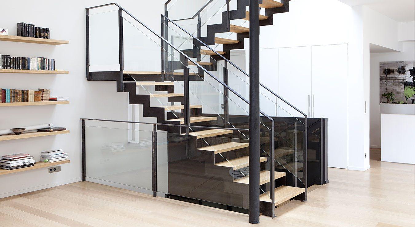 Escalier métal : Étude, design, conception, fabrication et ...