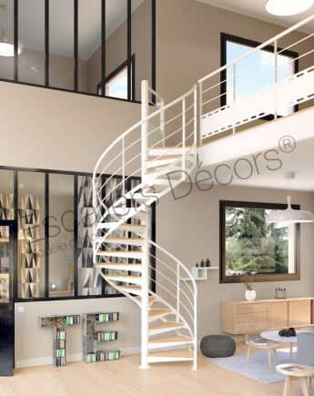 escalier colima on contemporain escaliers d cors. Black Bedroom Furniture Sets. Home Design Ideas