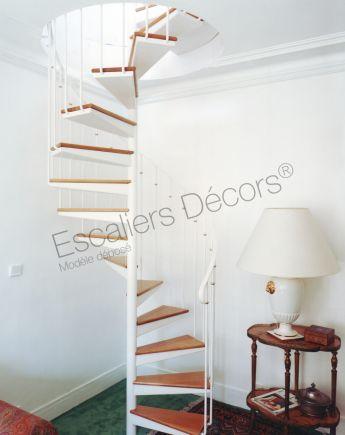 Escalier Intérieur Hélicoïdal Métal Et Bois De