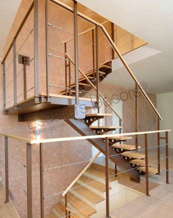 Escalier 2 4 Tournants Escaliers Décors
