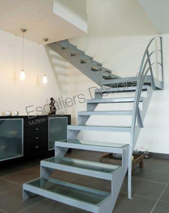 Escalier 1 4 Tournant Escaliers Decors
