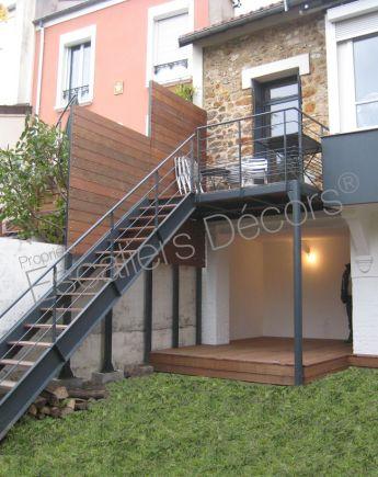 Escalier Metallique Exterieur