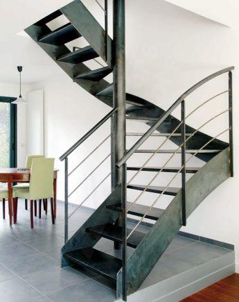 escalier 2 4 tournants escaliers d cors. Black Bedroom Furniture Sets. Home Design Ideas